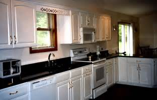 kitchen white cabinets black granite interior exterior