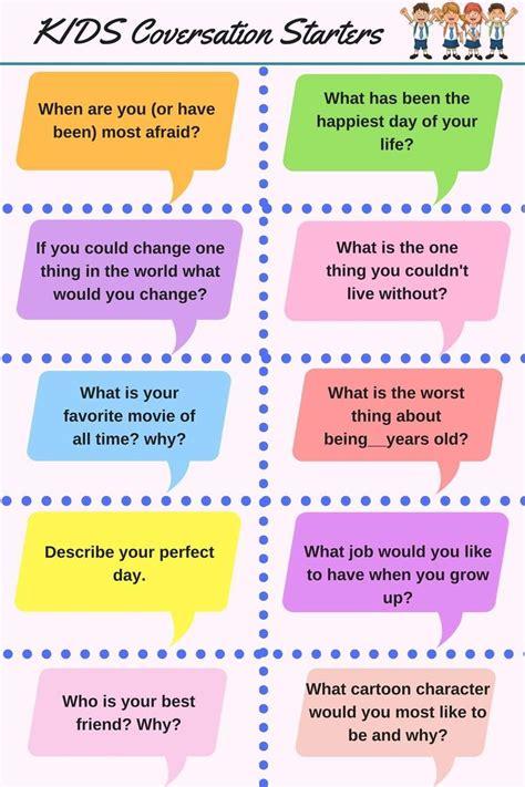kids conversation starters english conversation  kids