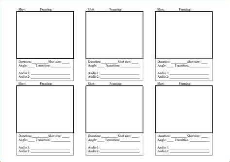 video storyboard template teknoswitch