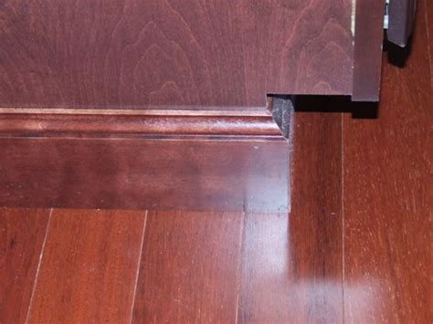cabinet base trim add elegance to your cabinets with a few simple details