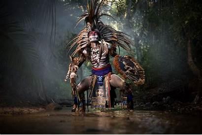 Aztec Jp Stones Myths Portraits Indigenous Cinematic