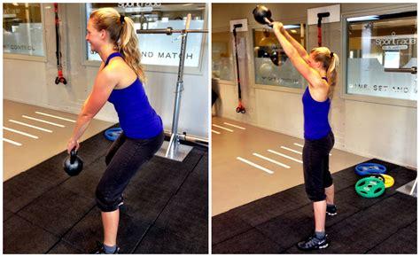 dan kettlebell swing sportschool 5 workout met marloes