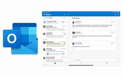 Ipad Outlook Microsoft Attach Drag Lets Apps
