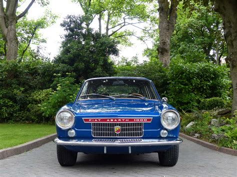 1966 Fiat Abarth 1000  Specialized Vehicle Solutions