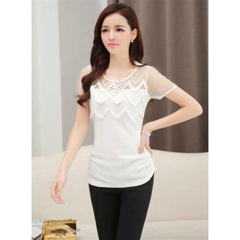 blouse wanita korea  moro fashion