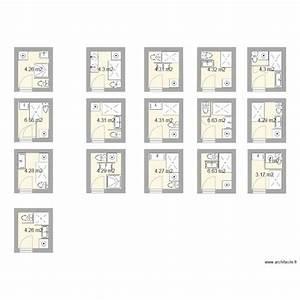plan salle de bain 3m2 salle de bains pinterest tiny With agencement salle de bain 3m2