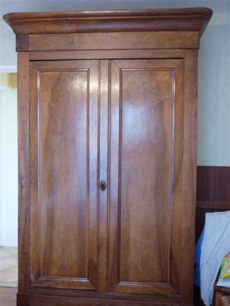 Louis Philippe Armoire by Armoire Louis Philippe Noyer Offres Juin Clasf