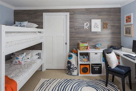 The large window is the highlight in this shared room design. Creative Shared Bedroom Ideas for a Modern Kids' Room ...