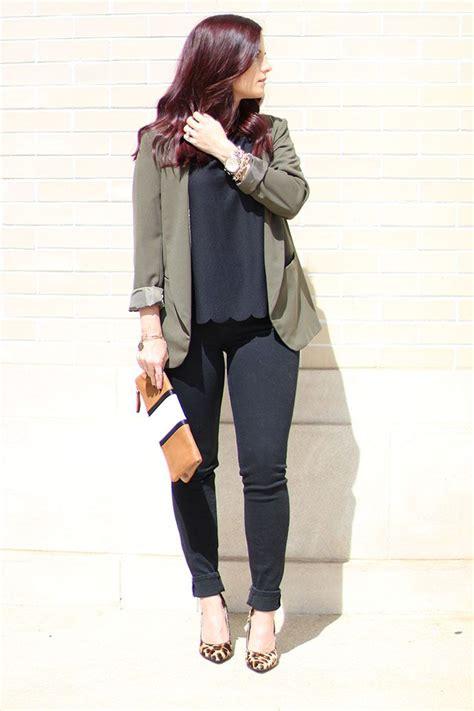 Blazer Outfit Ideas Pinterest