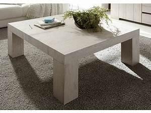 Table Basse Chene Blanchi : table basse palmira chene blanchi ~ Melissatoandfro.com Idées de Décoration