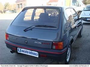 Voiture Occasion Alsace : peugeot 205 gti 1 6l 105 cv 1986 occasion auto peugeot 205 gti ~ Medecine-chirurgie-esthetiques.com Avis de Voitures
