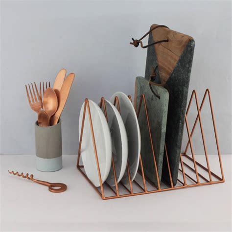 brass magazine  plate rack  posh totty designs