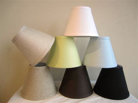 Miniature L Shades For Chandeliers by Urbanest Linen Mini Chandelier L Shade Clip On