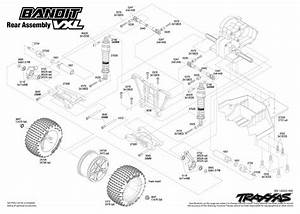30 Traxxas Rustler Vxl Parts Diagram