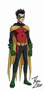 Robin: Damian Wayne by phil-cho on DeviantArt
