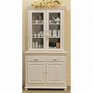 Credenza provenzale legno bianca Credenze e vetrine shabby