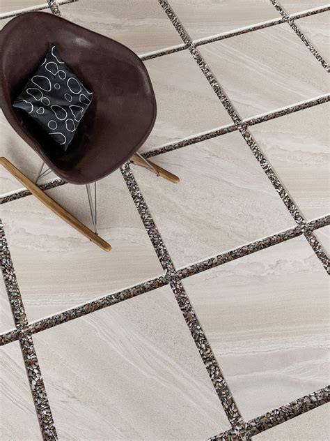 bianco slate effect outdoor porcelain paving slabs