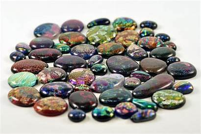 Gems Stones Wallpapers Pearlized Gemstones Dichroic Cool