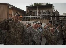 Troops fighting in Afghanistan remember their comrades in