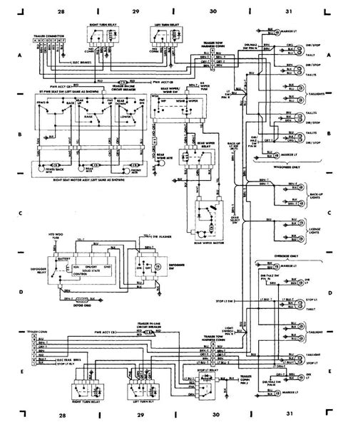 1998 Jeep Xj Fuel Wiring Diagram by 87 Jeep Wiring Diagram On Lights Jeep