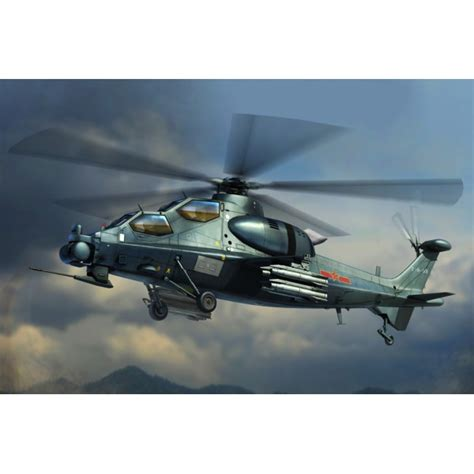 1/72 Chinese Z-10 Attack Helicopter