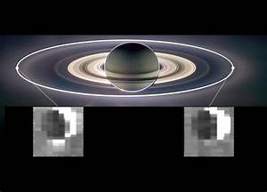 View of Moons Orbiting Saturn - Pics about space