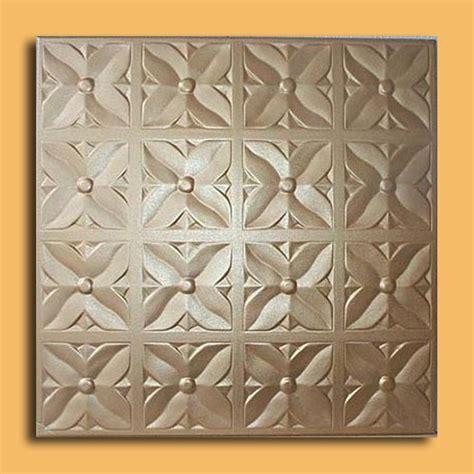 margaretta gold foam glue up ceiling tiles antique