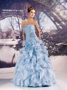 miss paris 133 22 bleu superbes robes de mariee pas With robe bleu clair mariage