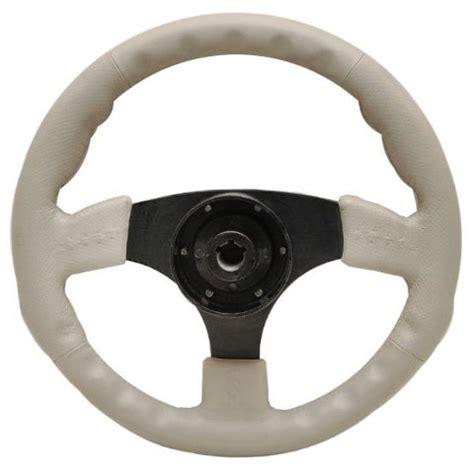 Boat Steering Wheel Shaft by Harris Kayot Pontoon Boat 13 1 2 Inch Light Taupe Vinyl