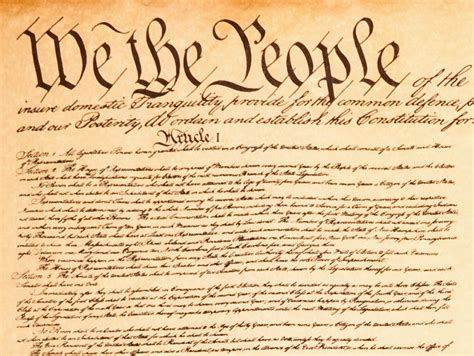 American Greatness Is The Constitution  The Party Project
