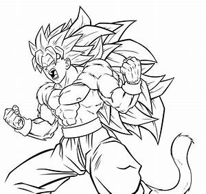 Dragon Ball Z Goku Super Saiyan 1000 Drawings - Great Drawing