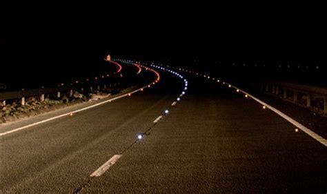 World Highways  Intelligent Road Studs Aim To Make Roads