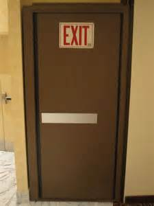 Panic Hardware for Exit Doors