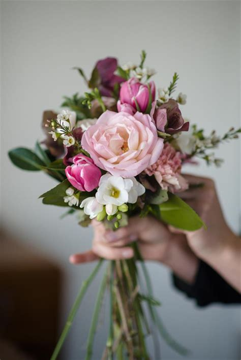 bridal bouquet recipe   picked posy  pinks