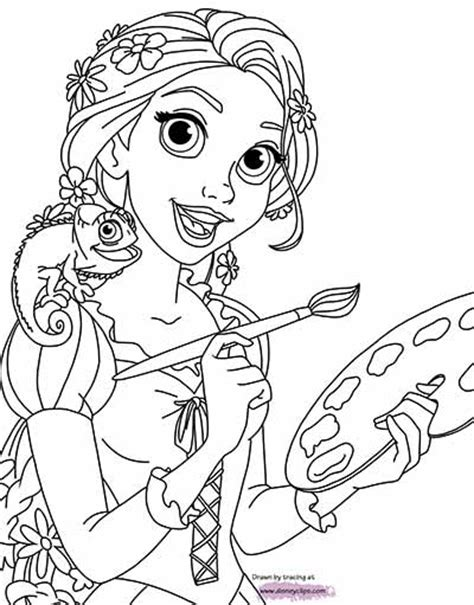 tangled coloring pages oct  rapunzel coloring pages