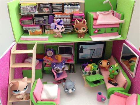 lps doll room loft lps lps houses