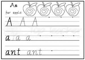 cursive handwriting practise sheets a z handwriting sheets easy top innovative and creative early childhood curriculum