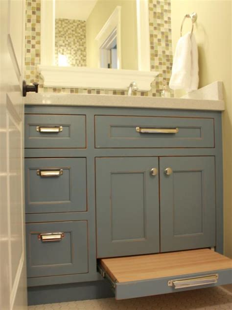 Small Bathroom Vanity With Storage by 18 Savvy Bathroom Vanity Storage Ideas Hgtv