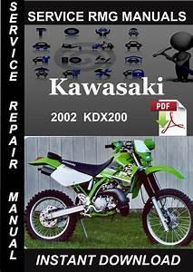 2002 Kawasaki Kdx200 Service Repair Manual Download