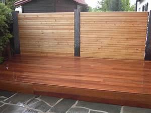 Sichtschutzzaun Bambus Holz : cumaru holzdeck sichtschutz bs holzdesign ~ Markanthonyermac.com Haus und Dekorationen