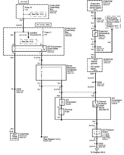 Honda Civic Ac Compressor Wiring by Honda Ac Clutch Not Engaging Motor Vehicle Maintenance