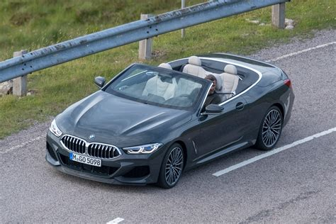 2019 Bmw Eight Series by New 2019 Bmw 8 Series Convertible Spied Pictures Auto