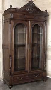 antique french henri ii walnut armoire antique armoires