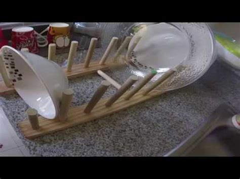 como hacer  organizador  platos diy youtube