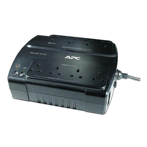 apc be700g uk 405 watts 700 va input 230v output 230v interface port usb power saving back