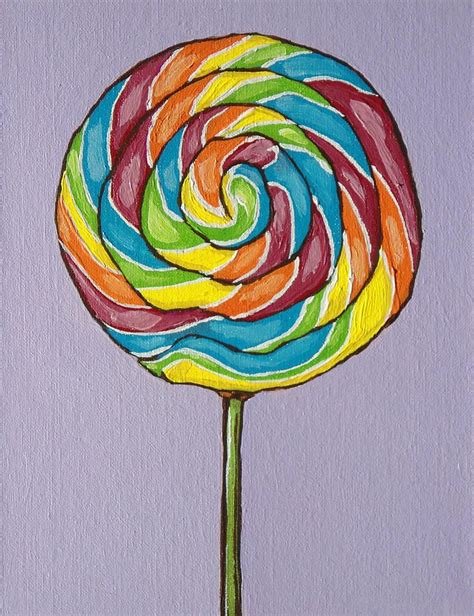 rainbow lollipop rainbow drawing search  poster