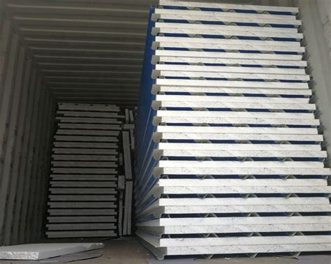 pu sandwich panels ekn cooling systems cold storage warehouse manufacturer