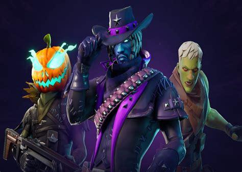 fortnite inicia su evento de halloween  zombies nuevas