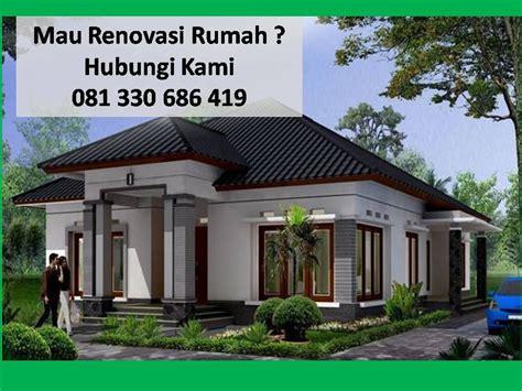 biaya renovasi rumah tipe gambar rumah rukogambar