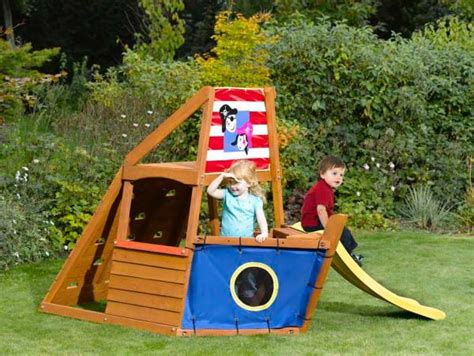 captain plum pirate ship wooden play centre toys zavvicom